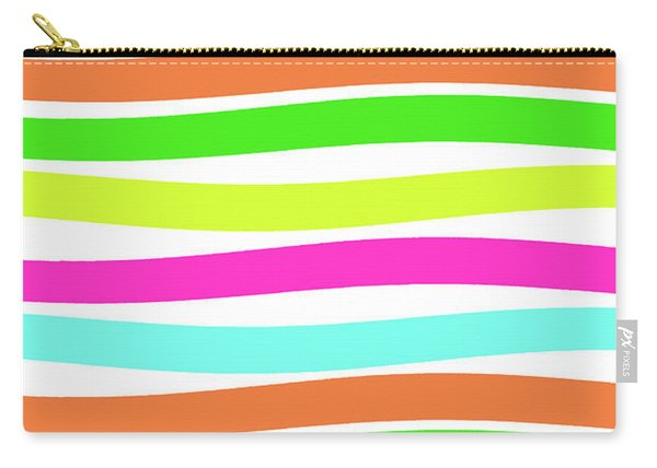 Stripes Carry-all Pouch