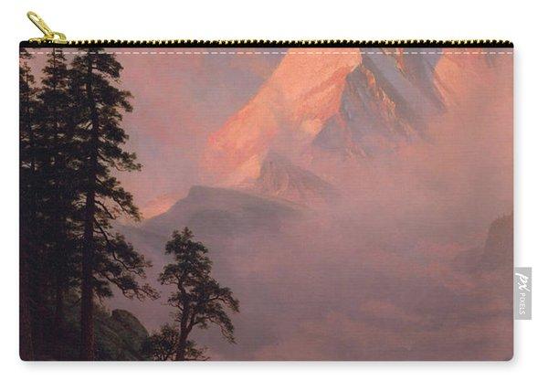 Sunrise On The Matterhorn Carry-all Pouch