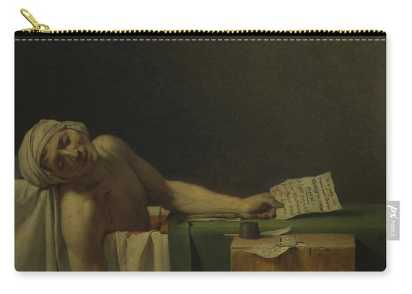 The Death Of Marat  Carry-all Pouch