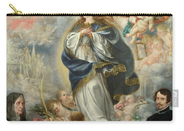 The Immaculate Conception With Two Donors Carry-all Pouch