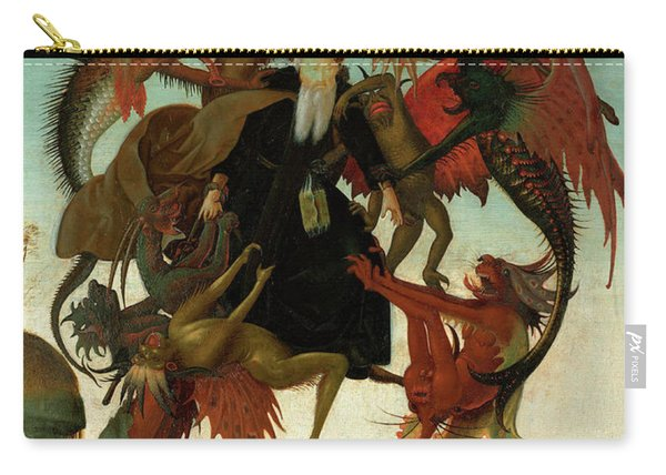 The Torment Of Saint Anthony Carry-all Pouch