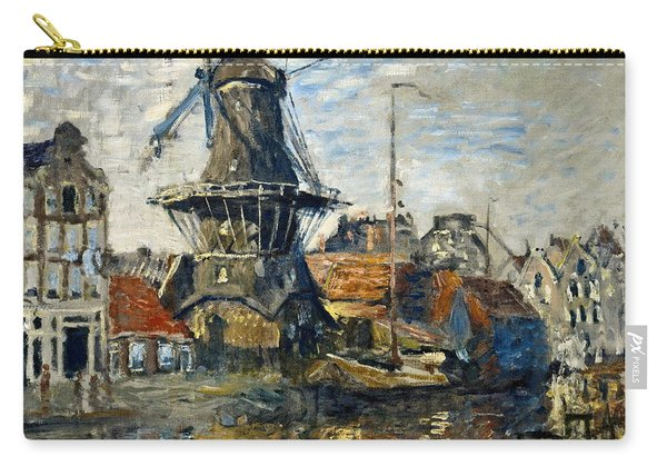The Windmill On The Onbekende Gracht  Amsterdam  Carry-all Pouch