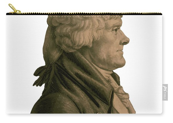 Thomas Jefferson Profile Carry-all Pouch