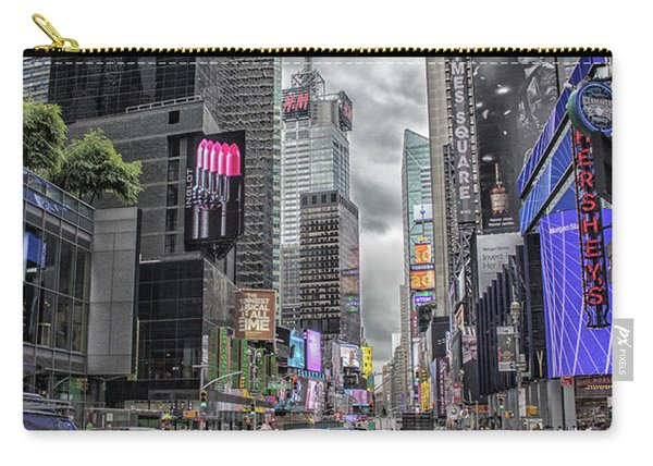 Times Square Carry-all Pouch