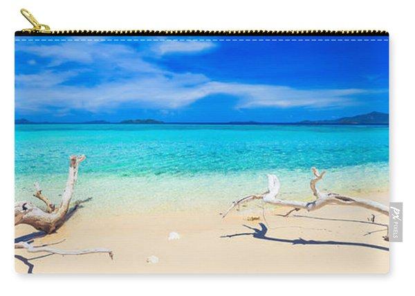 Tropical Beach Malcapuya Carry-all Pouch