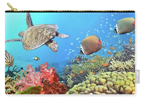 Underwater Panorama Carry-all Pouch