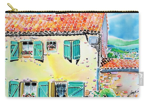 View Of Luberon Carry-all Pouch