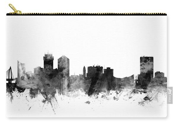Wichita Kansas Skyline Carry-all Pouch