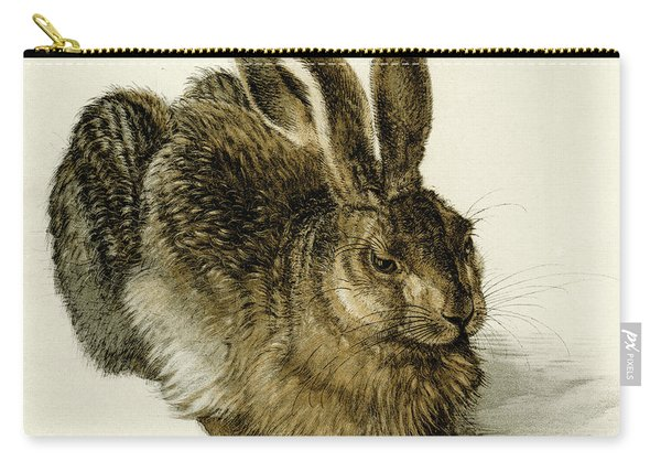 Young Hare Carry-all Pouch