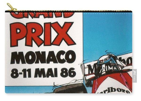 44th Monaco Grand Prix 1986 Carry-all Pouch