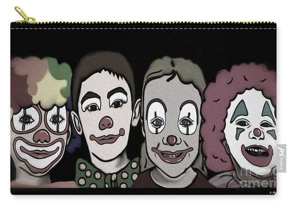 4happy Clowns 80 Carry-all Pouch