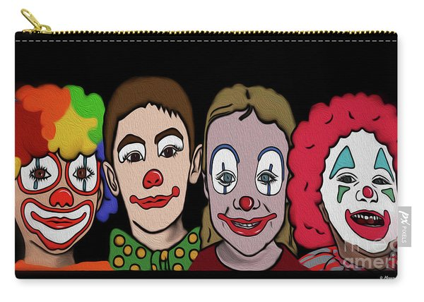 4happy Clowns Carry-all Pouch