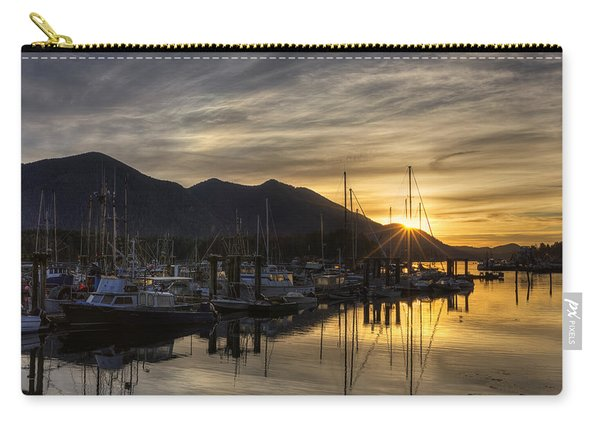 4th Street Docks Sunrise - Tofino Carry-all Pouch