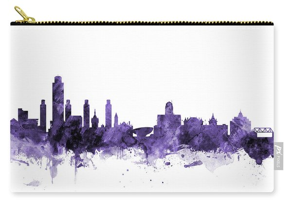 Albany New York Skyline Carry-all Pouch