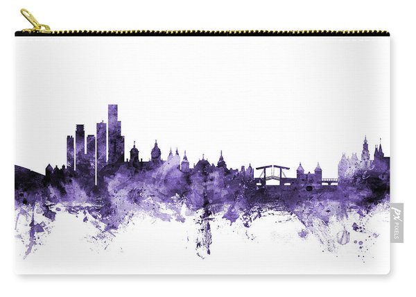 Amsterdam The Netherlands Skyline Carry-all Pouch