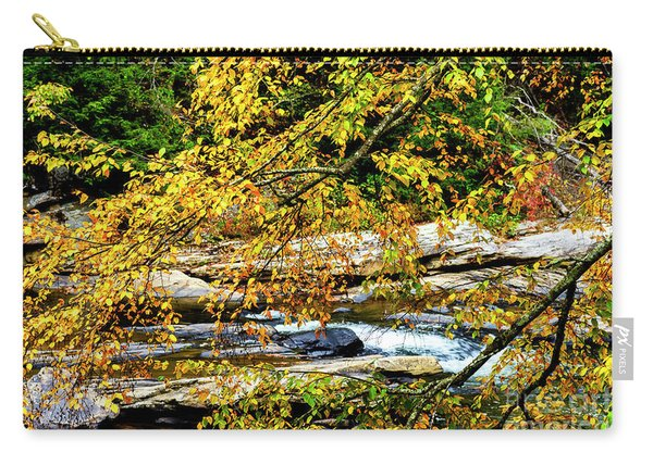 Autumn Middle Fork River Carry-all Pouch