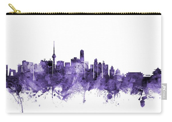 Beijing China Skyline Carry-all Pouch