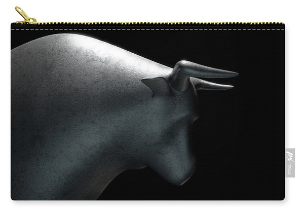 Bull Statue Carry-all Pouch
