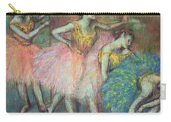 Four Dancers Carry-all Pouch