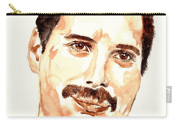 Freddie Mercury Portrait Carry-all Pouch