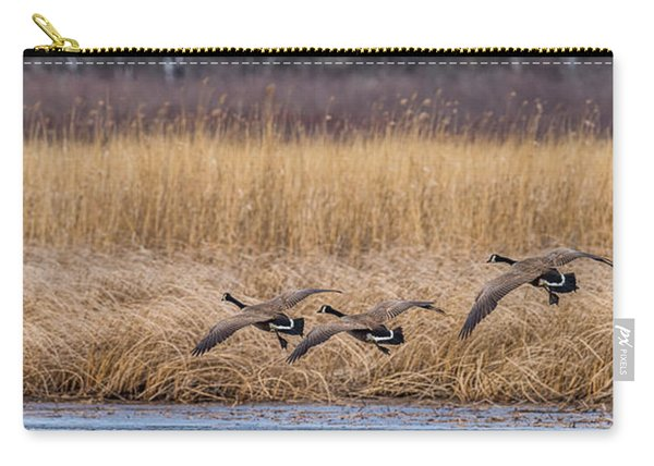 5 Geese Carry-all Pouch