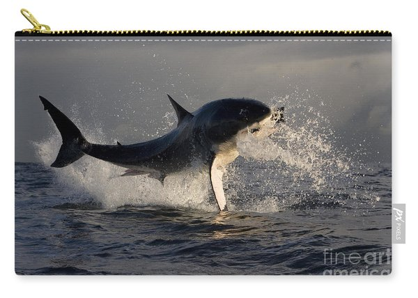 Great White Shark Carry-all Pouch