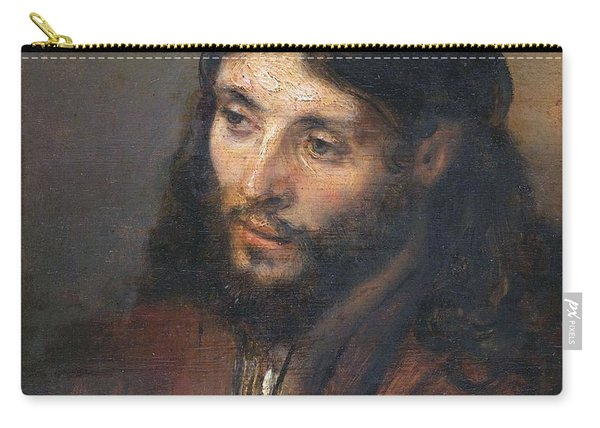 Head Of Christ Carry-all Pouch