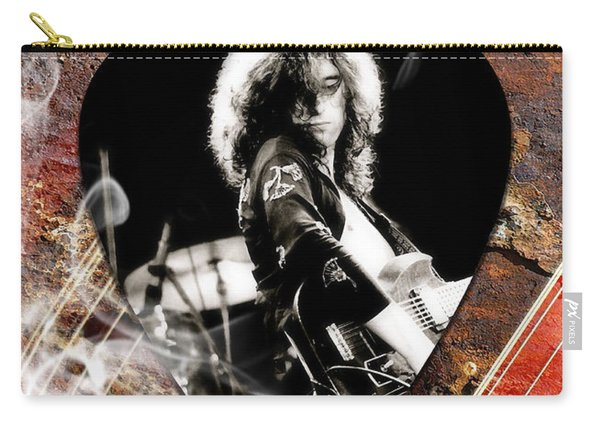 Jimmy Page Art Carry-all Pouch