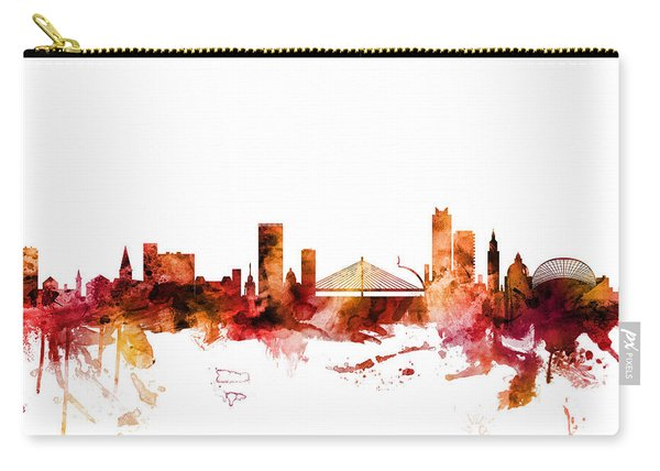 Liege Belgium Skyline Carry-all Pouch
