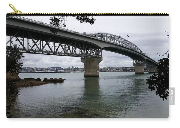 New Zealand - Pohutukawa's And Auckland Harbour Bridge Carry-all Pouch