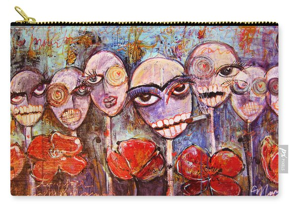 5 Poppies For The Dead Carry-all Pouch