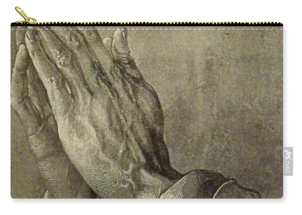 Praying Hands Carry-all Pouch