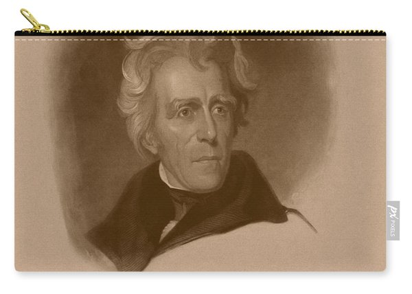 President Andrew Jackson Carry-all Pouch