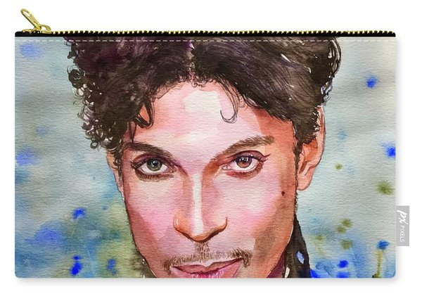 Prince Rogers Nelson Portrait Carry-all Pouch