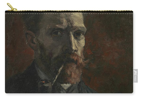 Self-portrait With Pipe Carry-all Pouch