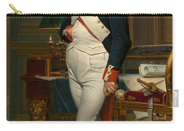 The Emperor Napoleon In His Study At The Tuileries Carry-all Pouch