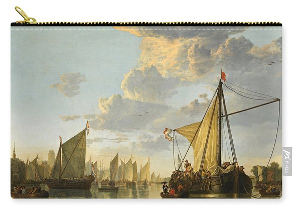 The Maas At Dordrecht Carry-all Pouch