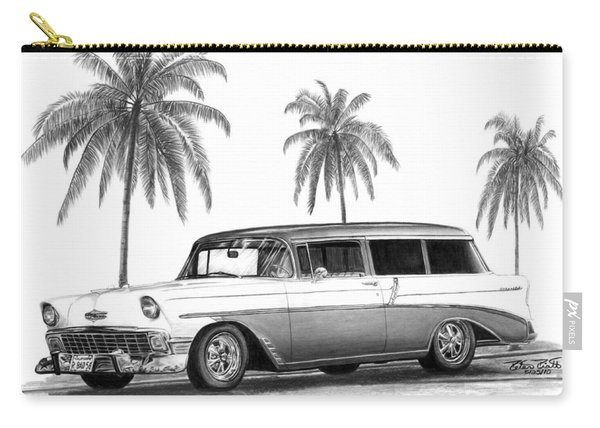 56 Chevy Wagon Carry-all Pouch