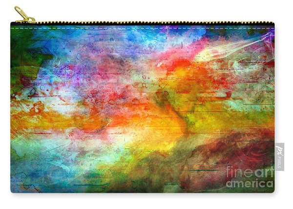 5a Abstract Expressionism Digital Painting Carry-all Pouch