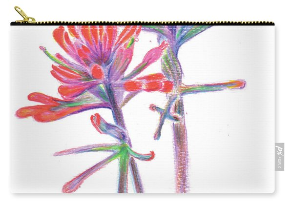 5x7paintbrush Carry-all Pouch
