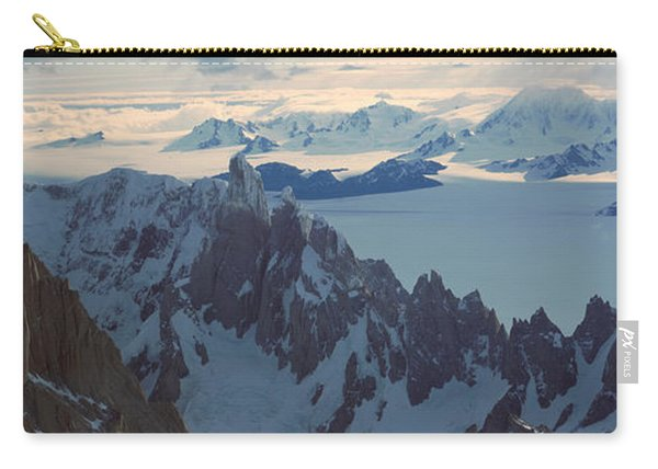 Panoramic Aerial View At 3400 Meters Carry-all Pouch