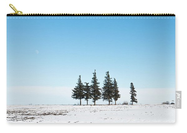 6 Pines And The Moon Carry-all Pouch