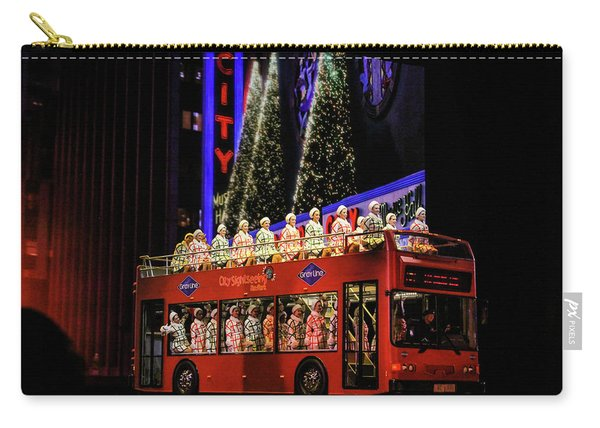 Radio City Rockettes New York City Carry-all Pouch