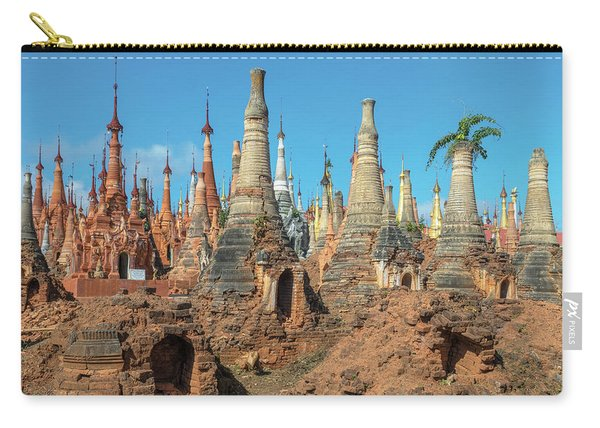 Shwe Indein Pagoda - Myanmar Carry-all Pouch