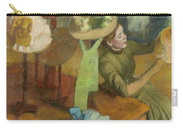The Millinery Shop Carry-all Pouch
