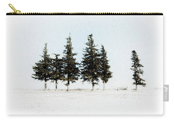 6 Trees Carry-all Pouch