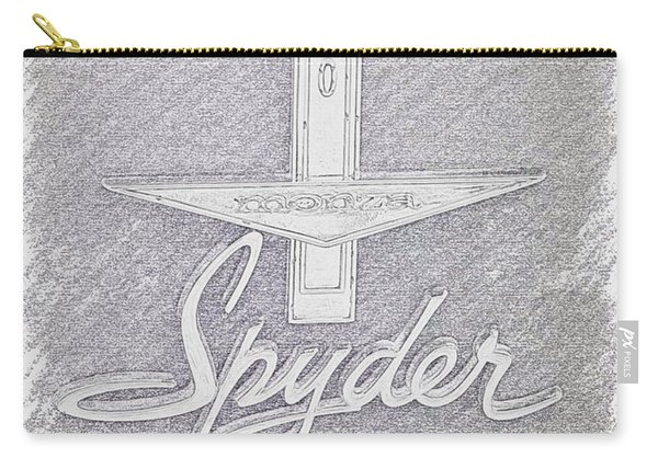 63 Corvair Spyder Sketch Carry-all Pouch