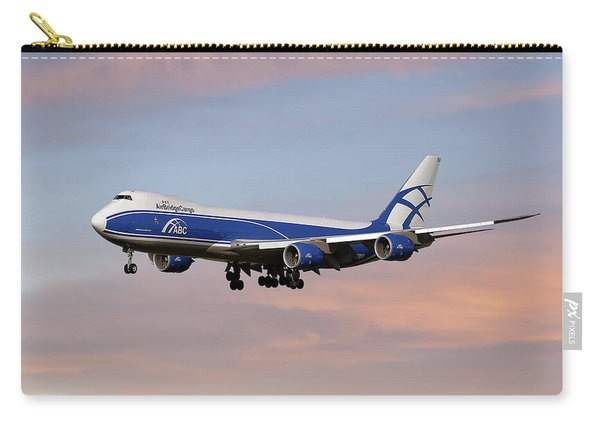 Air Bridge Cargo Boeing 747-8f Carry-all Pouch