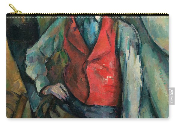 Boy In A Red Waistcoat Carry-all Pouch
