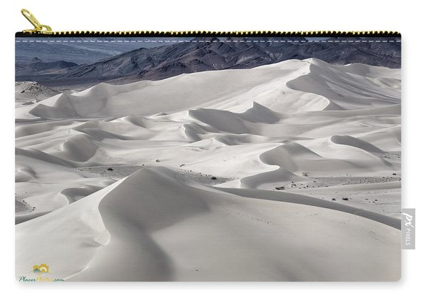 Carry-all Pouch featuring the photograph Dumont Dunes 8 by Jim Thompson